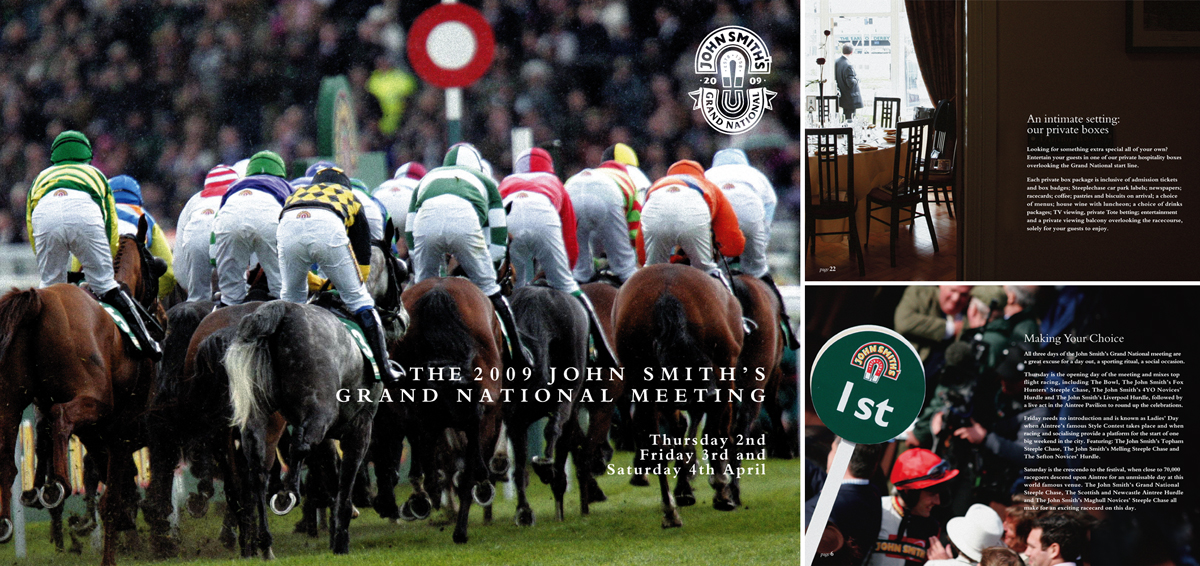 John Smith's Grand National: Brochure and pages 2009