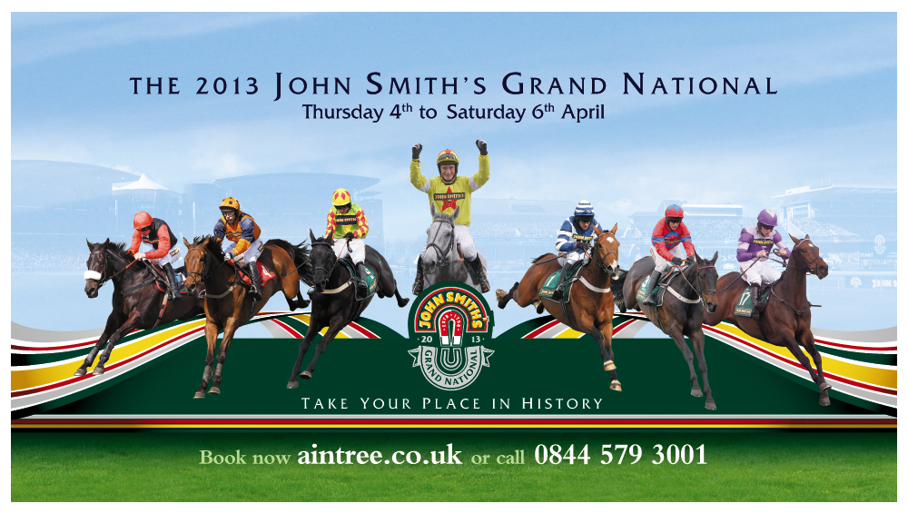 2013 John Smith's Grand National Billboard