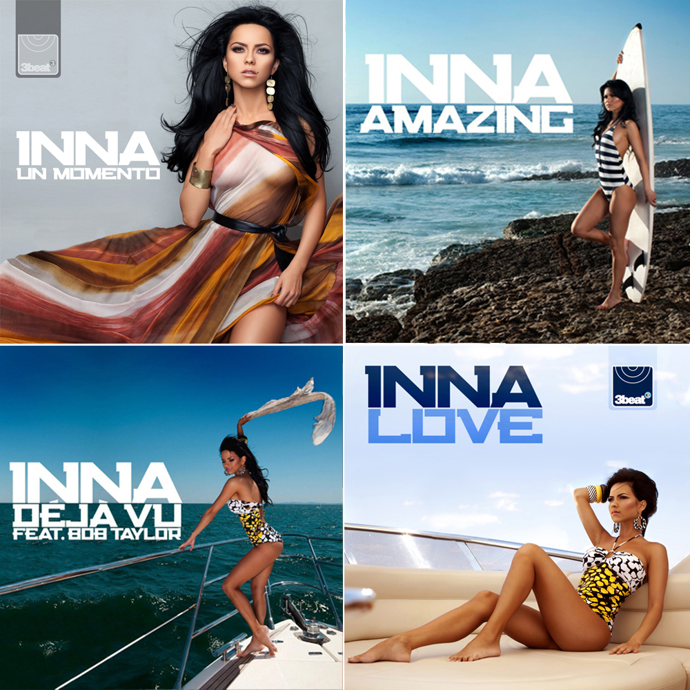 Single sleeves: INNA