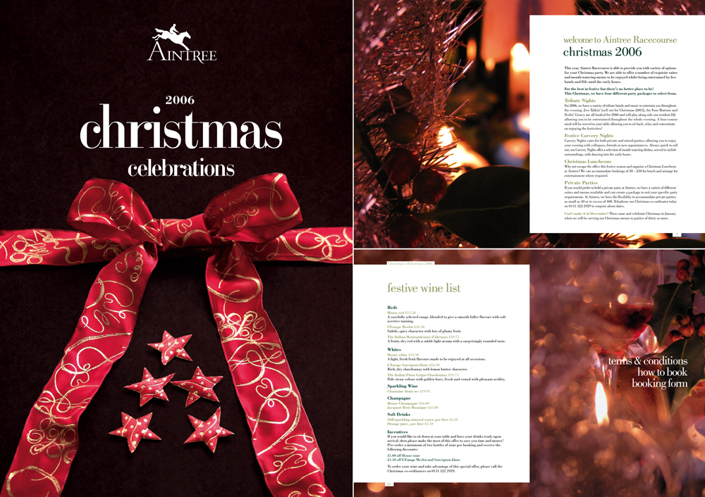 Aintree Christmas Brochure 2006