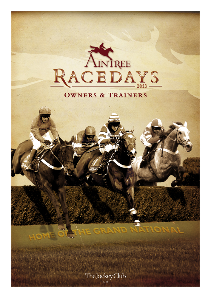 Aintree Racecourse Racedays Letter cover