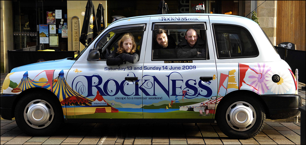 RockNess: Biffy Clyro photo shoot