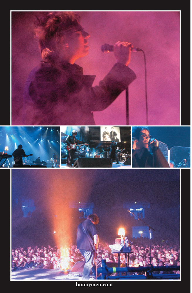 Echo and the Bunnymen: Ocean Rain DVD Booklet spread 5