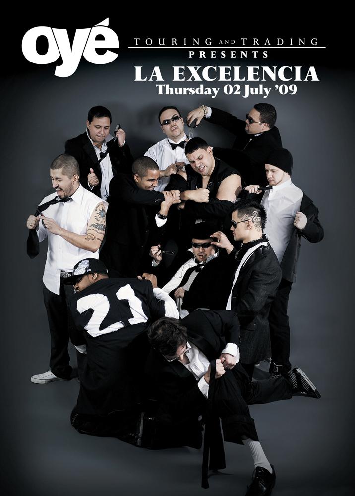Oyé Touring & Trading: La Excelencia Poster