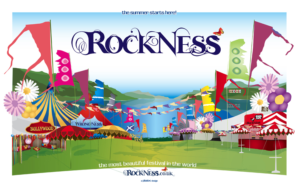 RockNess: Illustration
