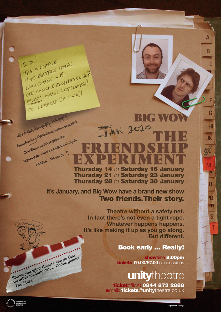 Big Wow: The Friendship Experement poster