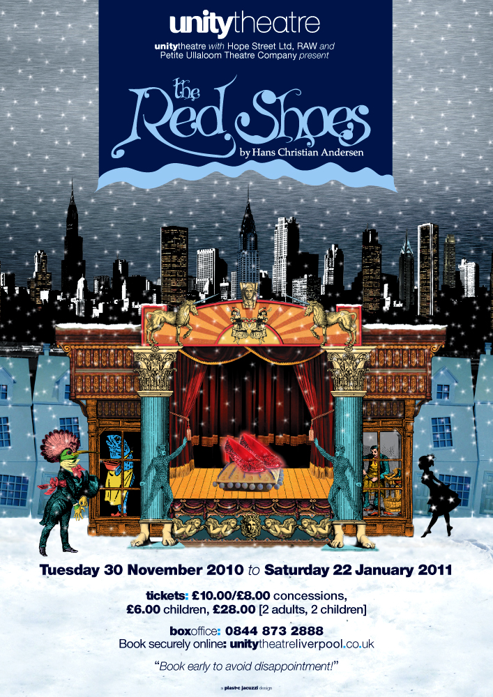 Unity Theatre: Christmas show poster