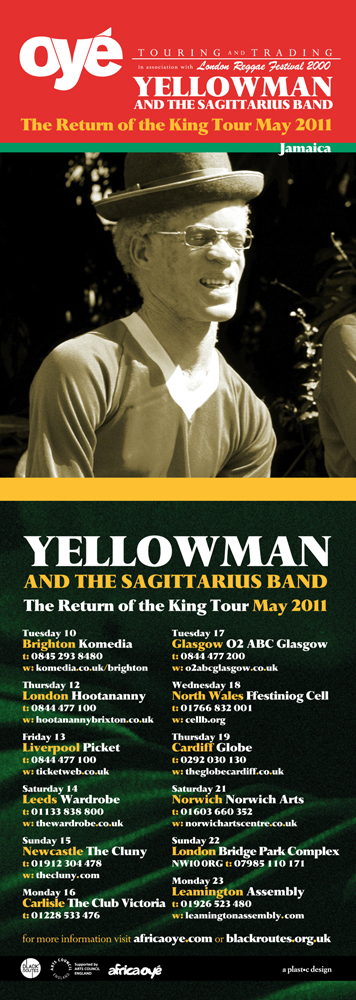 Oyé Touring & Trading: Yellowman flyer
