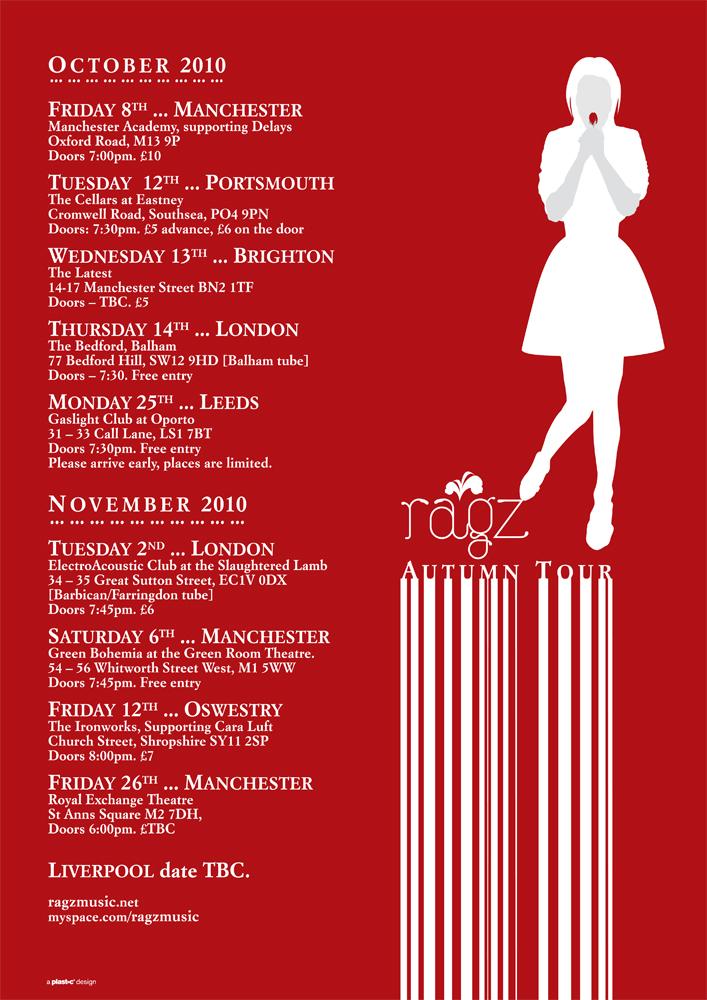Ragz: Tour poster