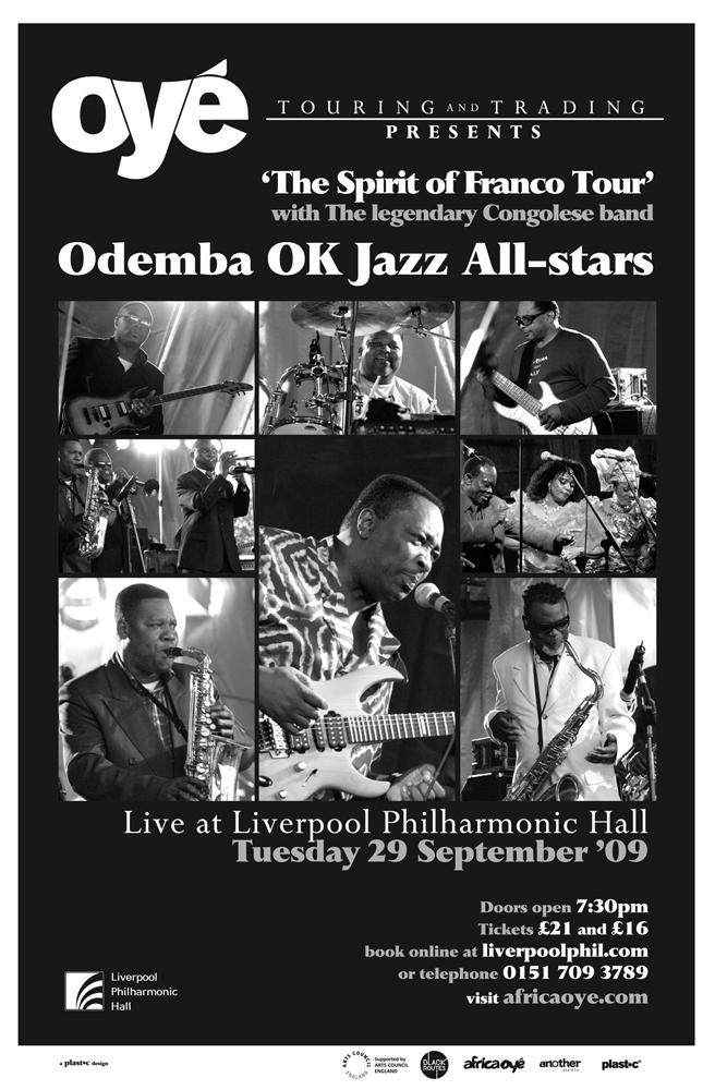 Oy'e Touring & Trading - Odemba OK Jazz poster