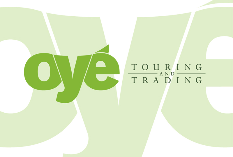 Oyé Touring & Trading: Business card
