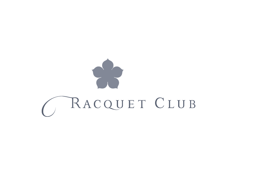 Racquet Club: Restaurant and Hotel identity